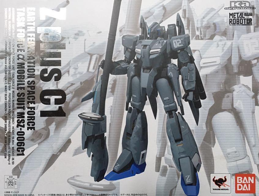 超合金 METAL ROBOT魂 Z plus C1 ②