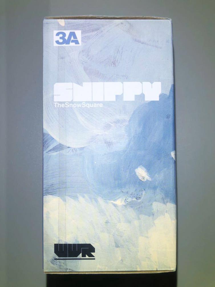 希少 3A ThreeA WWR SNNIPY THE SNOW SQUARE / 1/6 ashley wood TOMORROW KINGS popbot threezero フィギュア_画像5