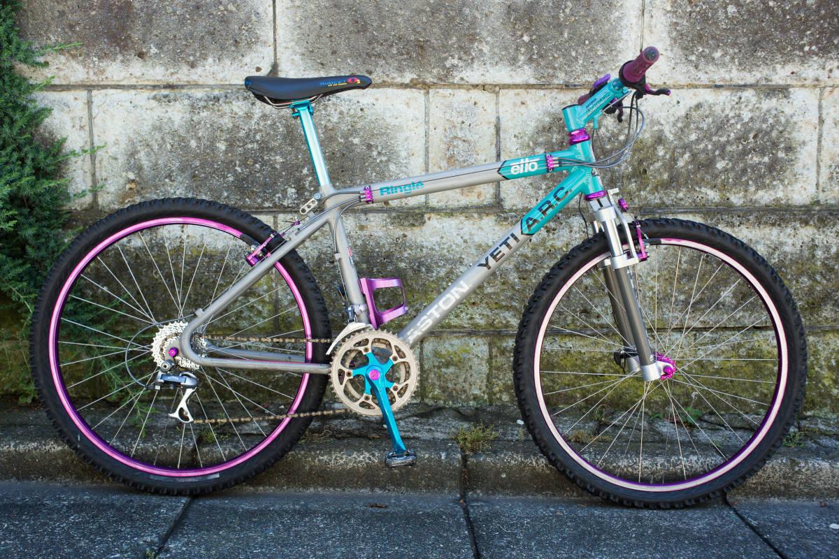 YETI CYCLES EASTON YETI ARC TEAM 16インチ ANSWER MANITOU 1991-93 レア オールドマウンテンバイク コレクター 歴史的資料 博物品
