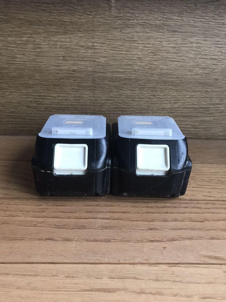 使用小 純正 Makita マキタ リチウムイオン バッテリ 18V BL1860B 6.0Ah 108Wh 2個 セット_画像2