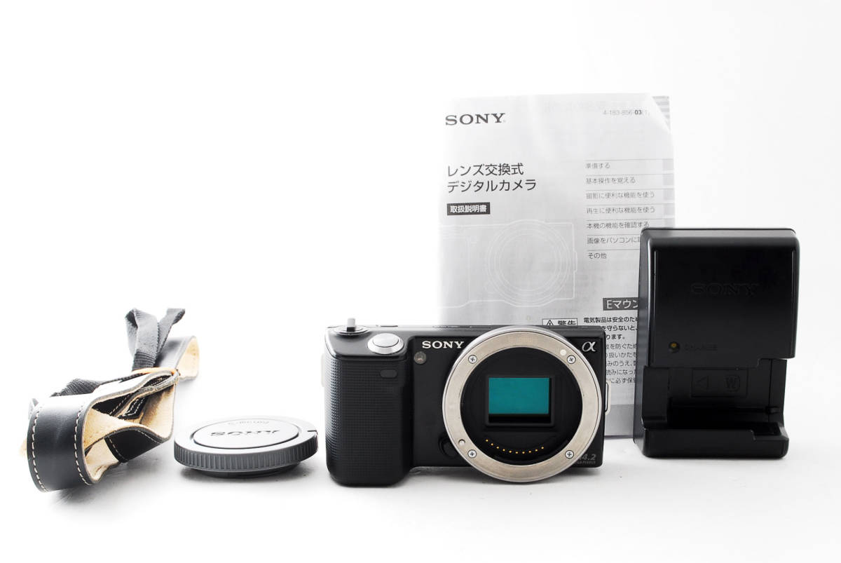 SONY ソニー NEX-5 ボディ Black ブラック #341