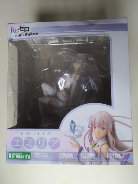 Re: ゼロから始める異世界生活 エミリア 1/8スケール PVC製 塗装済み完成品フィギュア_画像8
