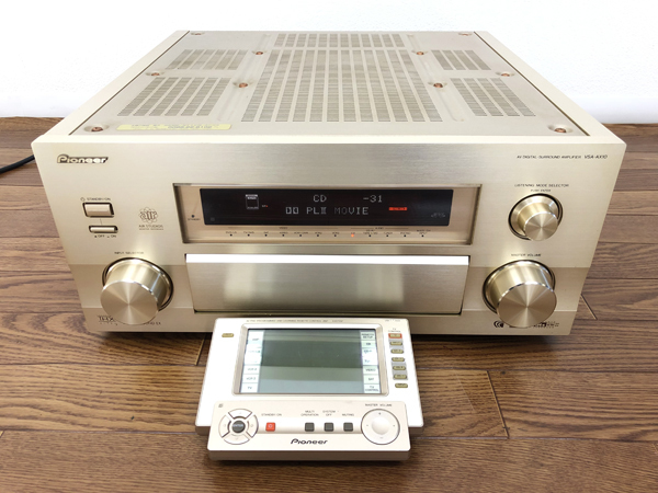 Pioneer VSA-AX10 AVアンプ リモコン有 パイオニア