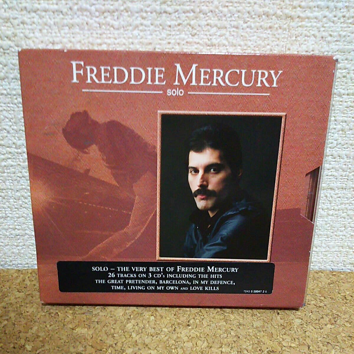 FREDDIE MERCURY/Solo 輸入盤CD3枚組 2CD+BonusCD フレディ・マーキュリー クィーン