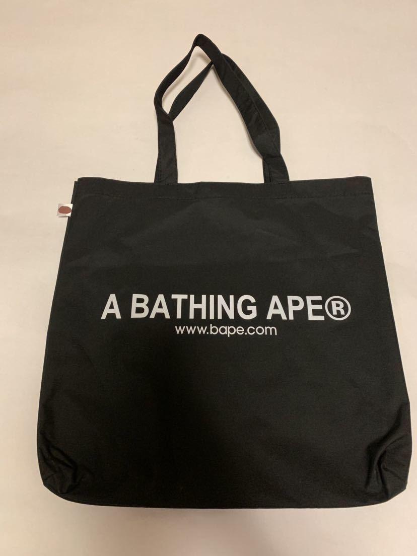 A BATHING APE アベイシングエイプ トートバッグ 黒