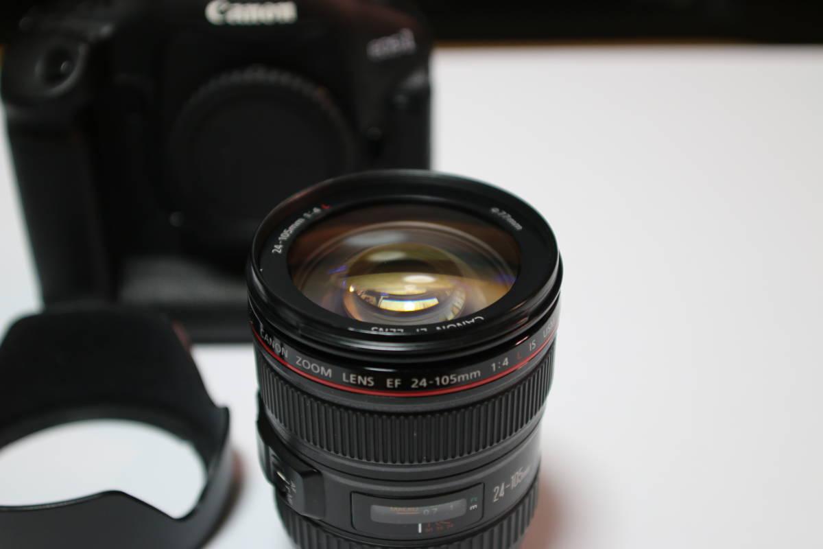 ☆良品☆ Canon EOS-1D MARK4 + EF24-105mm F4L IS USM セット_画像8