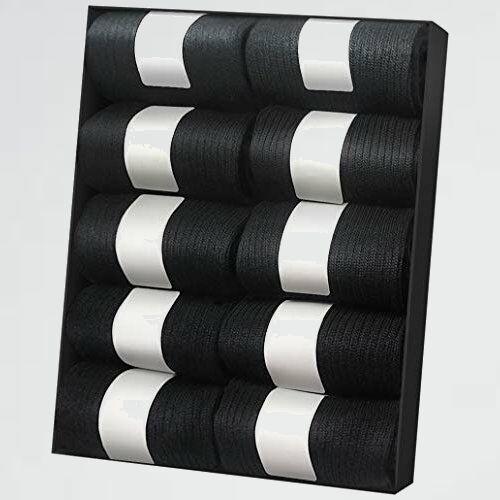 新品 好評 靴下 IGRESS H-XL 24-28㎝ 黒 メンズ ビジネスソックス 抗菌防臭 10足セット