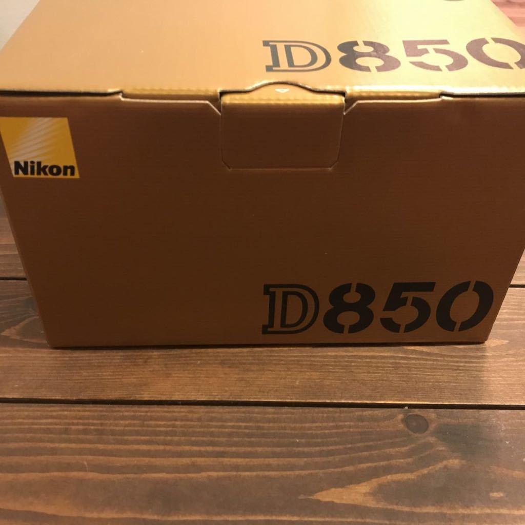 新品未使用 NIKON D850 ボディ