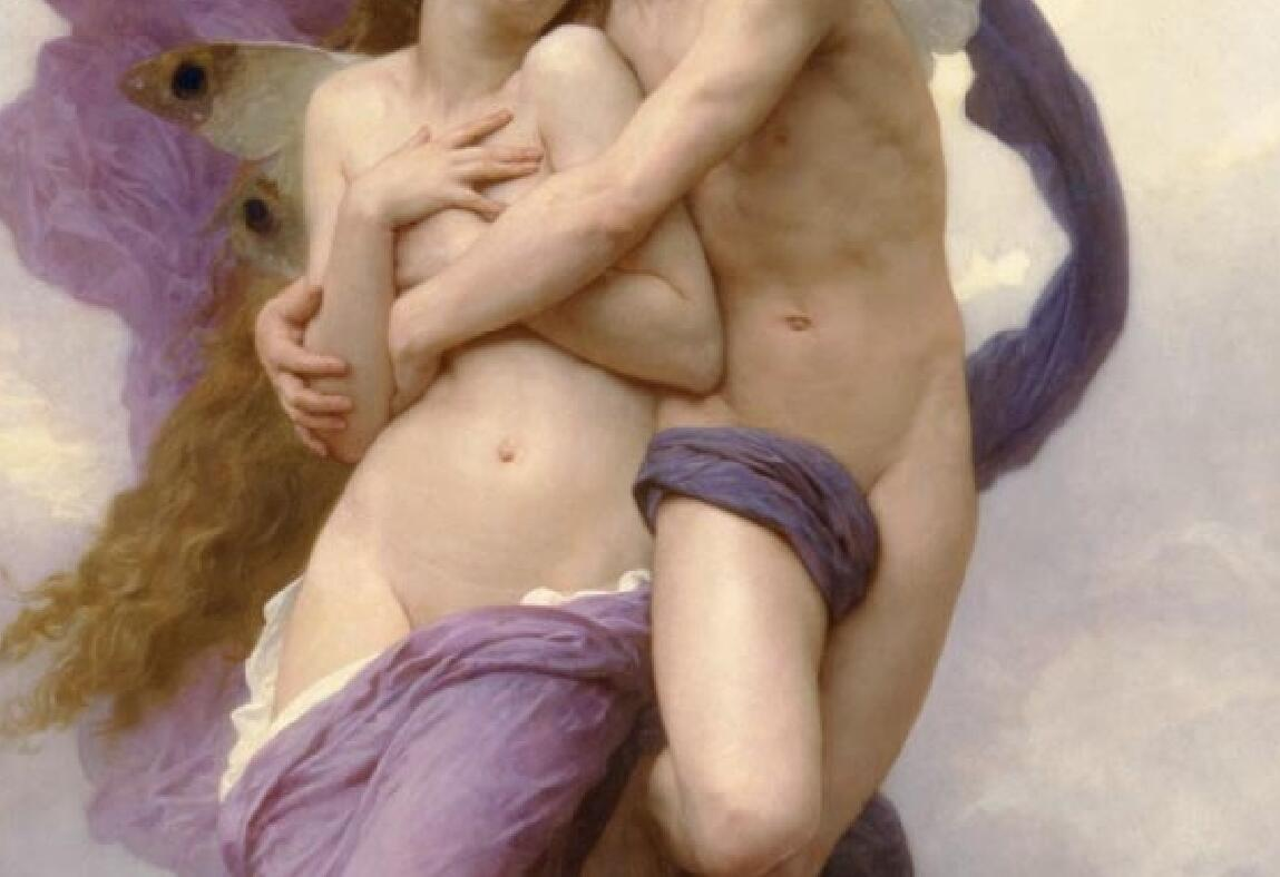 TL24作者不詳 西洋の油絵 美人画 裸婦 美術品絵画 油彩 ヌード 人物画 サイズ:50cm x 90cm_画像4
