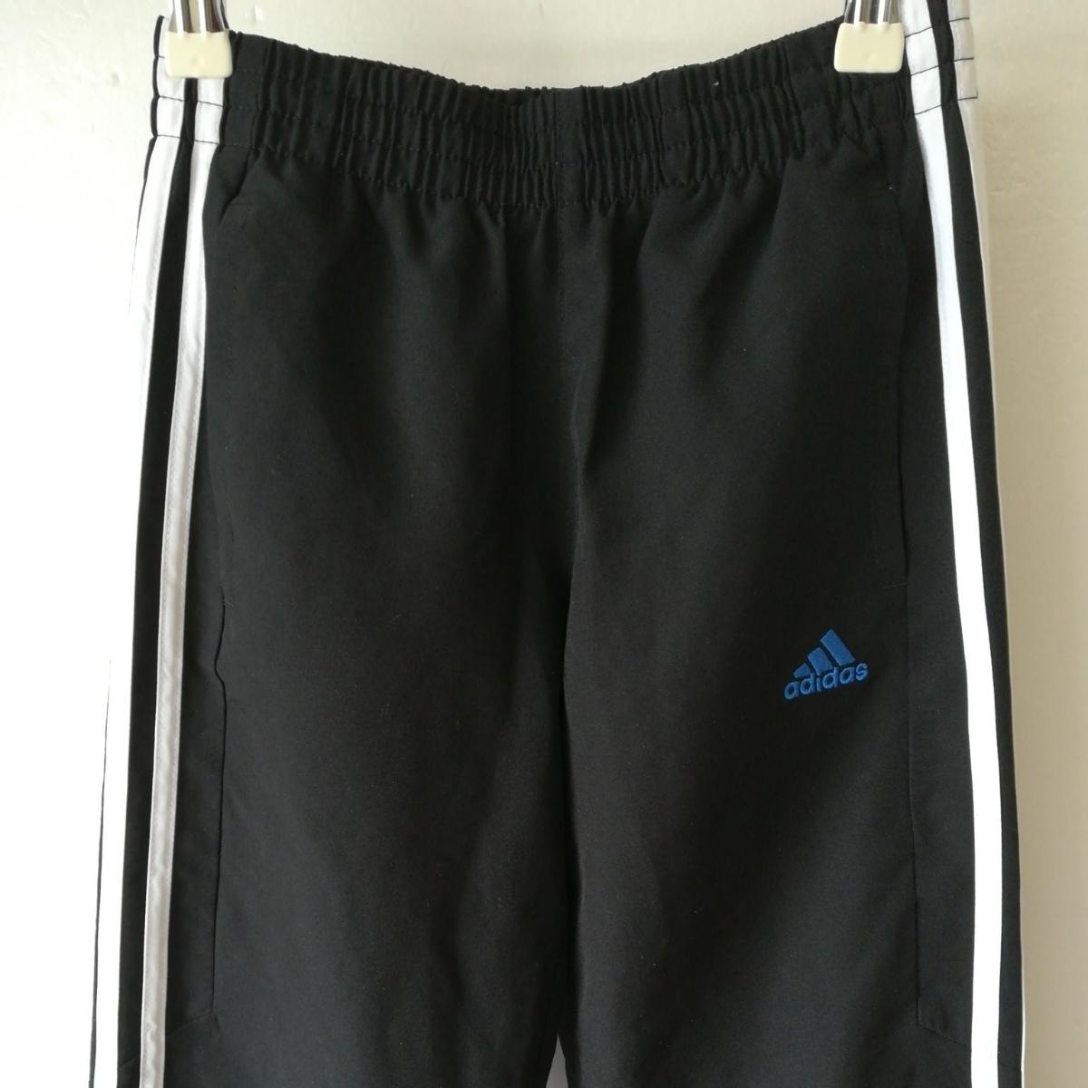 【一円】adidas アディダス ジャージ上着+スポーツウェアパンツ キッズ140/130サイズ 子供用_画像6