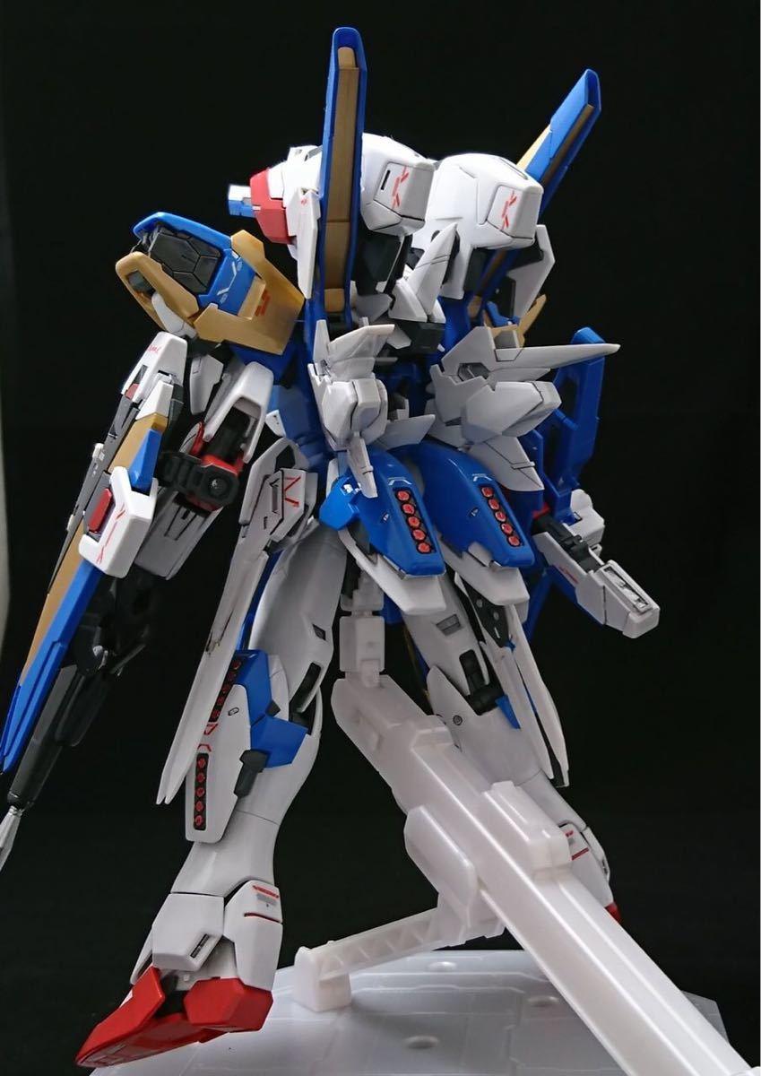 【塗装、小改修完成品】MG V2アサルトバスターガンダムVer.Ka (再出品)_画像5