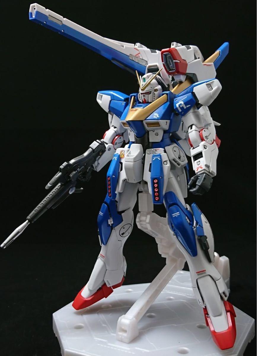 【塗装、小改修完成品】MG V2アサルトバスターガンダムVer.Ka (再出品)_画像9