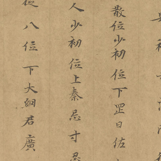真作 時代 肉筆 中阿経巻 奈良時代 古写経 肉筆保証 _画像10