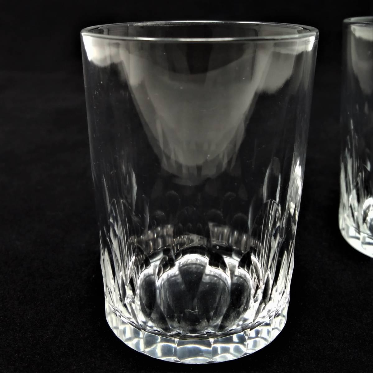 バカラ BACCARAT リシュリュー Richelieu ショットグラス リキュールグラス 2客セット H4.7cm 087◆冷酒 クリスタル タンブラー ゴブレット_画像8