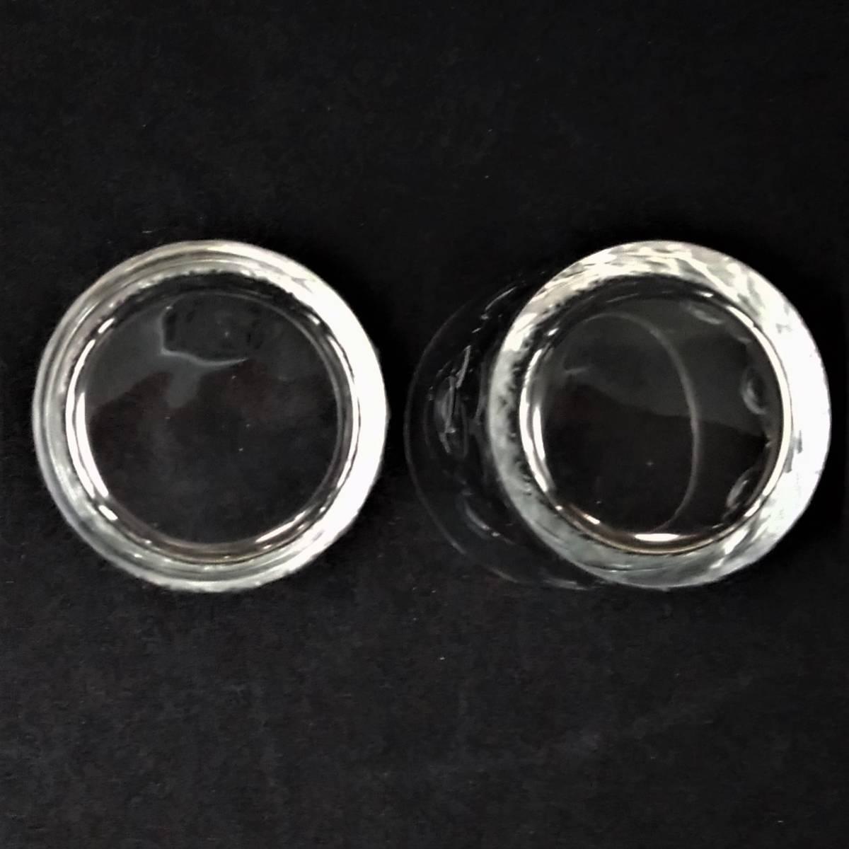 バカラ BACCARAT リシュリュー Richelieu ショットグラス リキュールグラス 2客セット H4.7cm 087◆冷酒 クリスタル タンブラー ゴブレット_画像6