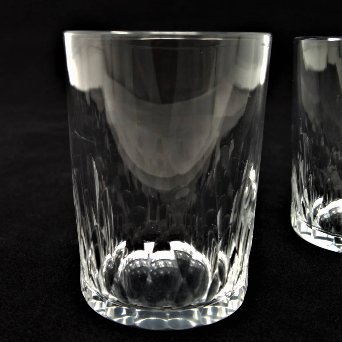 バカラ BACCARAT リシュリュー Richelieu ショットグラス リキュールグラス 2客セット H4.7cm 087◆冷酒 クリスタル タンブラー ゴブレット_画像7
