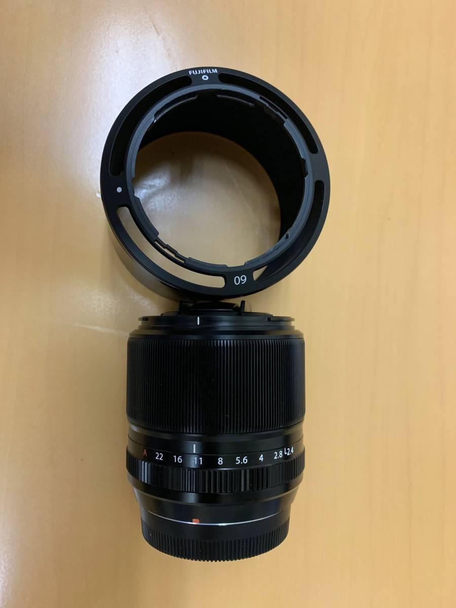 【中古美品】FUJIFILM FUJINON XF 60mm F2.4 R MACRO マクロ