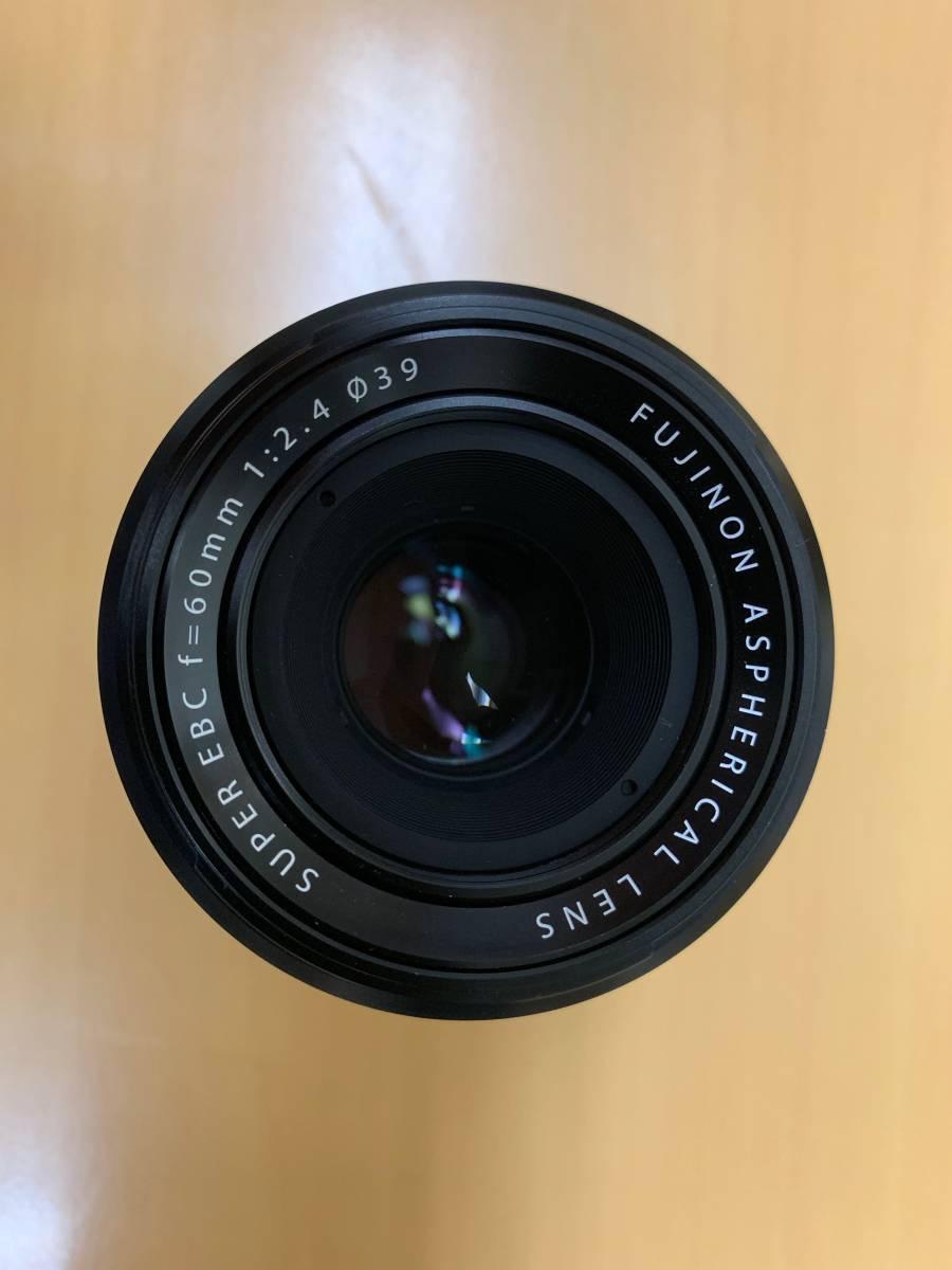 【中古美品】FUJIFILM FUJINON XF 60mm F2.4 R MACRO マクロ_画像2