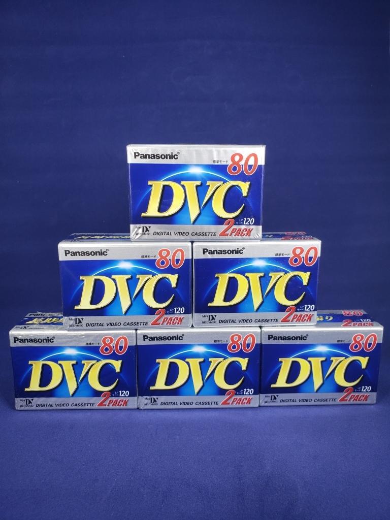 パナソニック ミニDVカセット 80分 2巻パック×6個