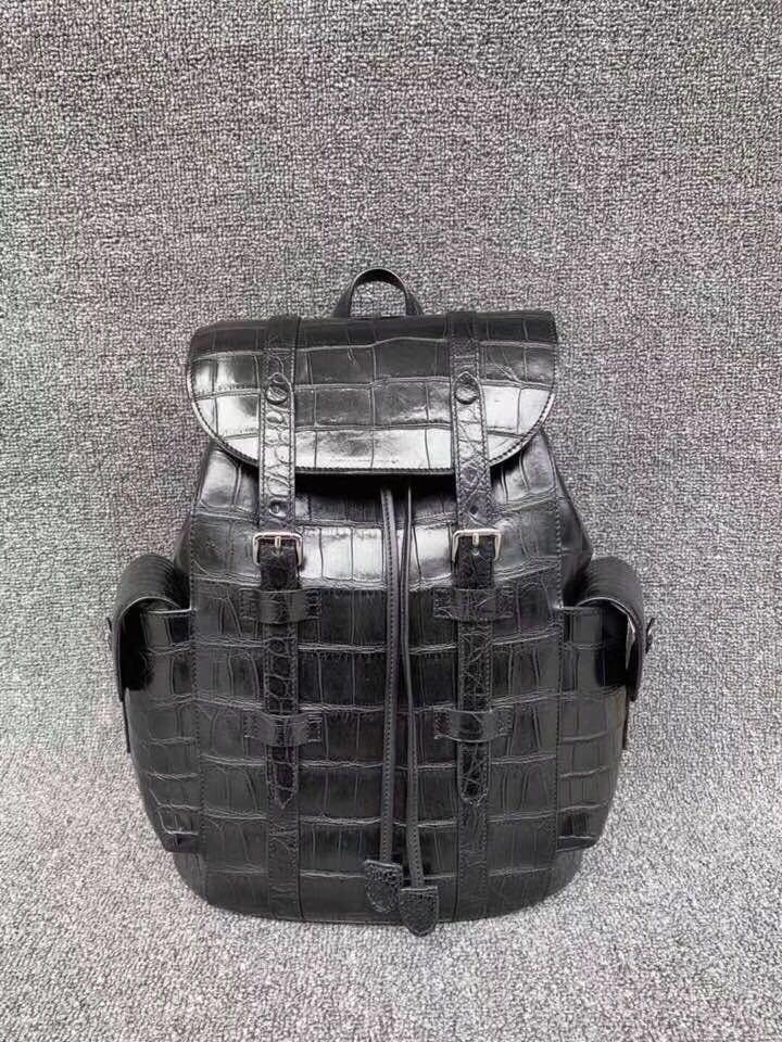 クロコダイル 腹革使用 本物保証 貴重品 ワニ革 メンズ 総本革 ブリーフケース鞄ショルダーバッグ