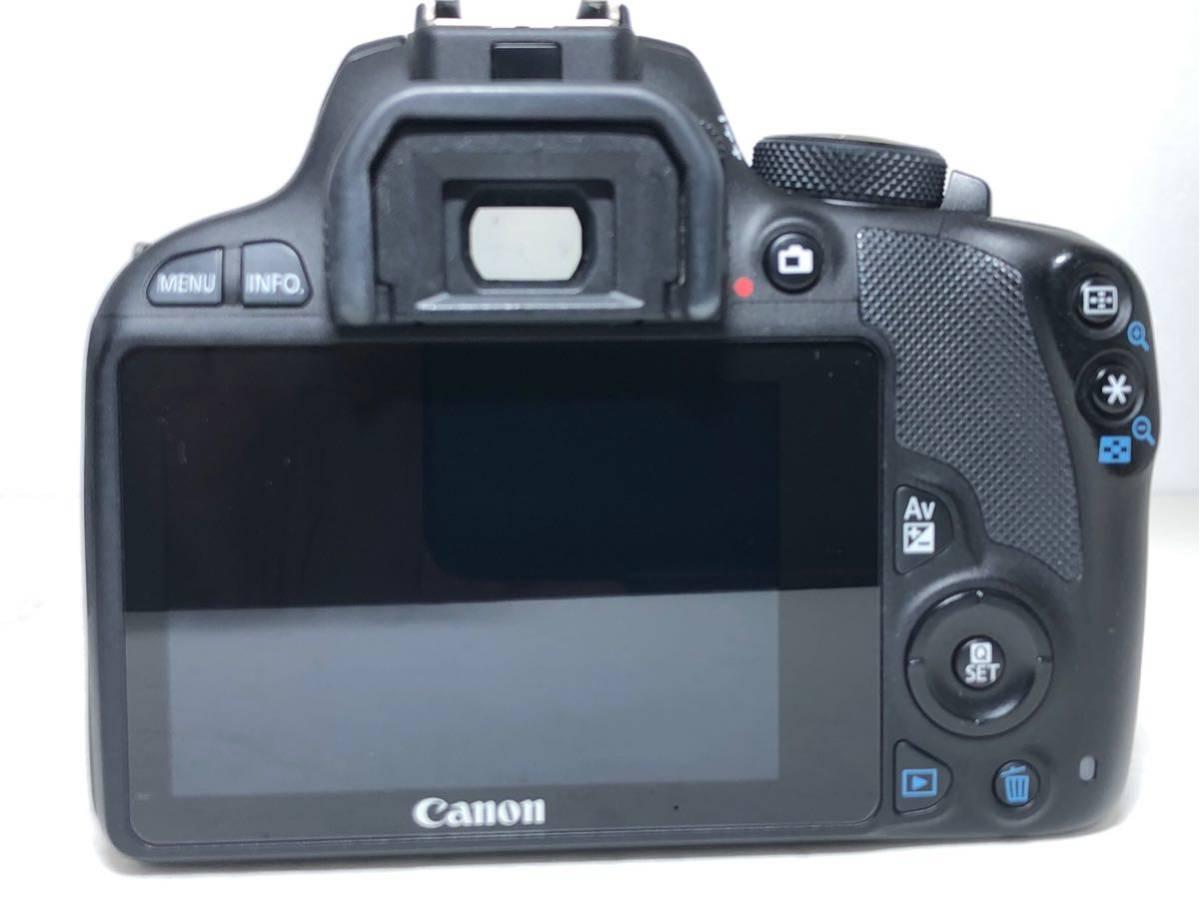 ◆美品◆キャノン Canon EOS KISS X7 ダブルレンズセット 元箱付き #6151_画像4
