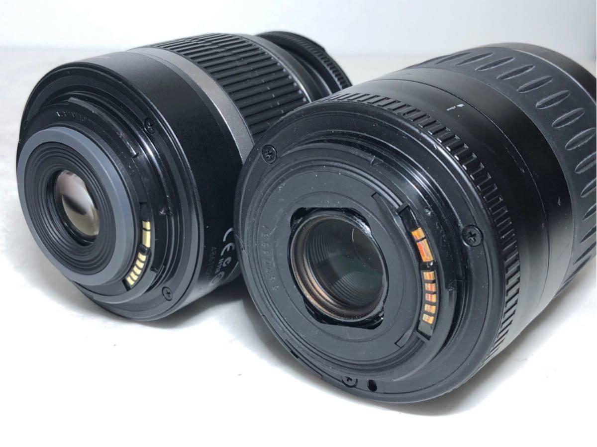 ◆美品◆キャノン Canon EOS KISS X7 ダブルレンズセット 元箱付き #6151_画像10