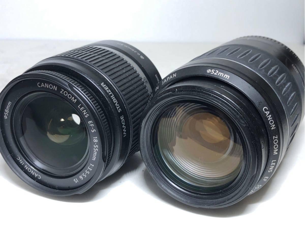 ◆美品◆キャノン Canon EOS KISS X7 ダブルレンズセット 元箱付き #6151_画像9