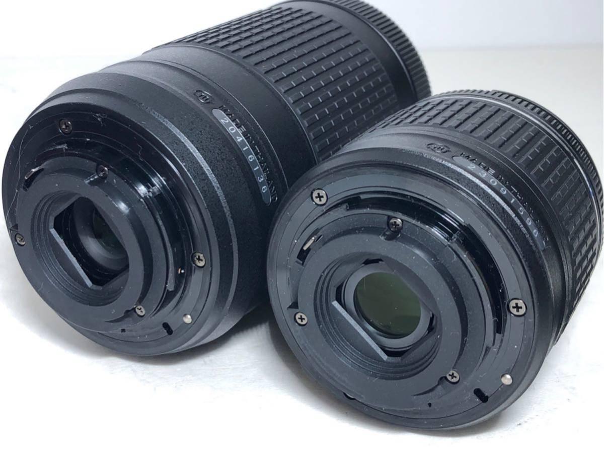 ◆新品級◆ニコン Nikon D3400 AF-P ダブルズームキット デジタル 一眼レフ レッド 16Gメモリ 予備バッテリー2個 Nikonバッグ付 6か月保証_画像10