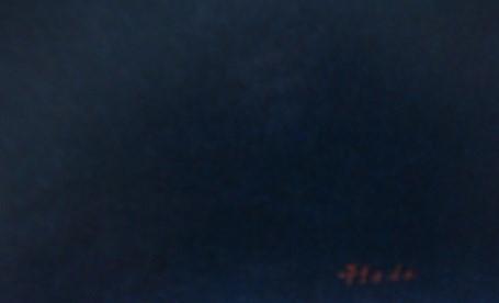 羽田裕【夏の朝】希少画集画、状態良好、新品高級額装付、送料無料、洋画 油彩 風景_画像5