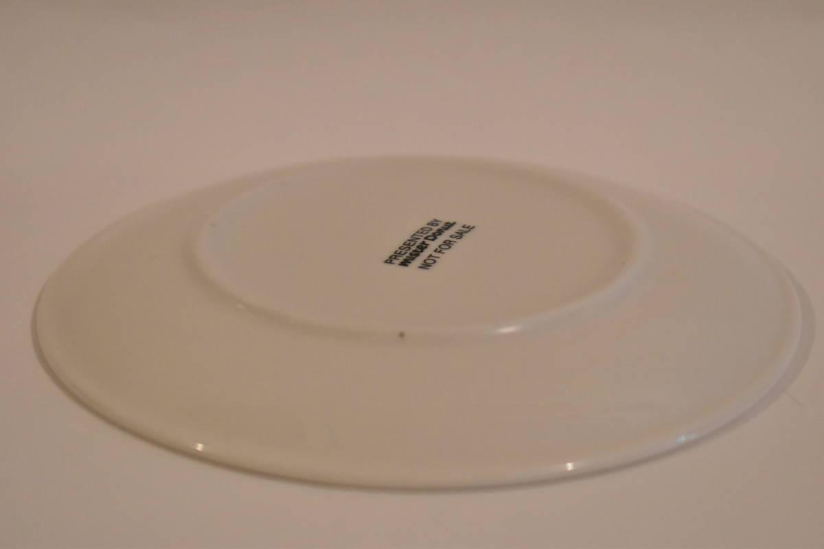 【未使用】ミスタードーナツ スペイン風 花柄 小皿 5枚セット 陶器*プレート*マーガレット*フラワー*レトロポップ*食器*レトロ*ミスド_画像10