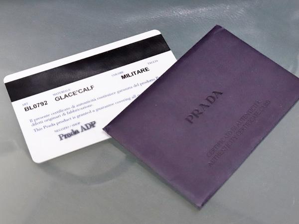 プラダ PRADA 最高級グレースカーフレザー斜め掛け2WAYハンドバッグ SV金具 ショルダーバッグ トートバッグ ギャラ付 本物 正規_画像8