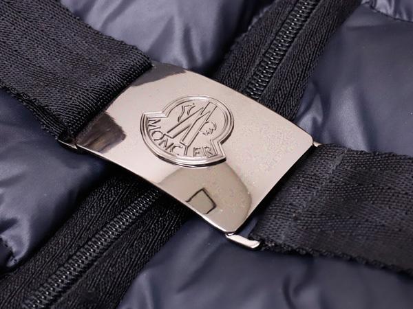 モンクレール 超大判ラクーンファー毛皮フード付きベルテッドダウンコート サイズ0 女性服 ジャケット ブルゾン MONCLER 本物 国内正規_画像5
