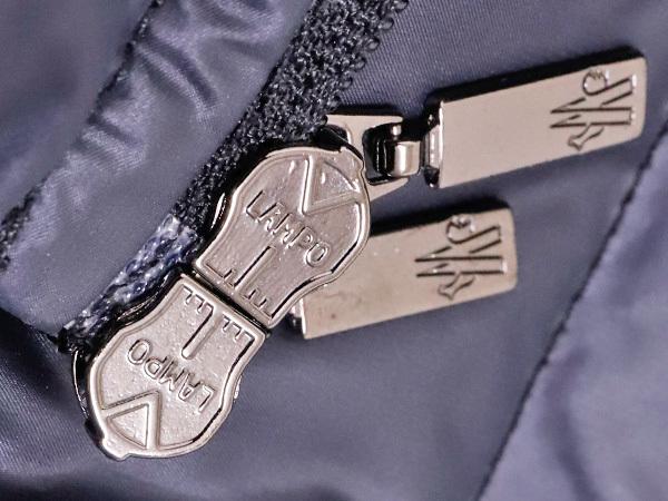 モンクレール 超大判ラクーンファー毛皮フード付きベルテッドダウンコート サイズ0 女性服 ジャケット ブルゾン MONCLER 本物 国内正規_画像6