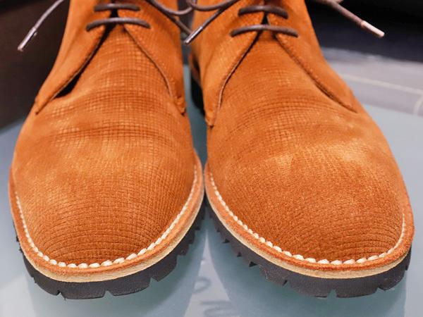 新品同 テストーニ 高機能 XL EXTRALIGHT ソール IDEAL CLARK デザートブーツ メンズ5.5 紳士革靴 シューズ 元箱付 TESTONI 本物 正規_画像4