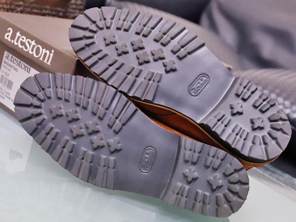 新品同 テストーニ 高機能 XL EXTRALIGHT ソール IDEAL CLARK デザートブーツ メンズ5.5 紳士革靴 シューズ 元箱付 TESTONI 本物 正規_画像8