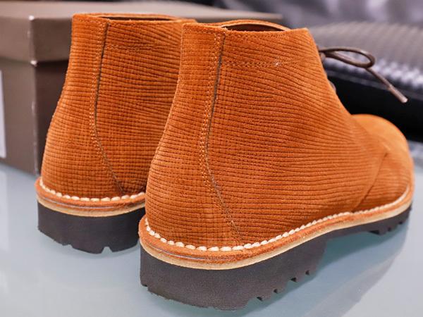 新品同 テストーニ 高機能 XL EXTRALIGHT ソール IDEAL CLARK デザートブーツ メンズ5.5 紳士革靴 シューズ 元箱付 TESTONI 本物 正規_画像6