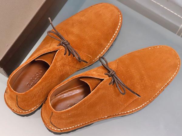 新品同 テストーニ 高機能 XL EXTRALIGHT ソール IDEAL CLARK デザートブーツ メンズ5.5 紳士革靴 シューズ 元箱付 TESTONI 本物 正規_画像7