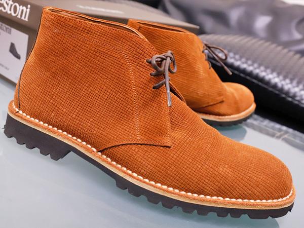 新品同 テストーニ 高機能 XL EXTRALIGHT ソール IDEAL CLARK デザートブーツ メンズ5.5 紳士革靴 シューズ 元箱付 TESTONI 本物 正規_画像2