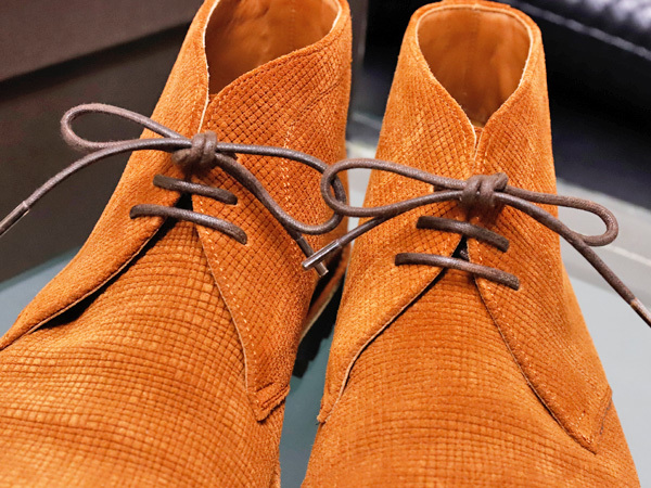 新品同 テストーニ 高機能 XL EXTRALIGHT ソール IDEAL CLARK デザートブーツ メンズ5.5 紳士革靴 シューズ 元箱付 TESTONI 本物 正規_画像3