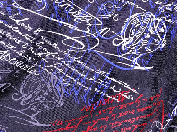 新品同 ベルルッティ 今季2019年 最新作 スクリット マルチカラー シルクシャツ メンズ41 紳士服 トップス KRIS VAN ASSCHE 本物 正規_画像4