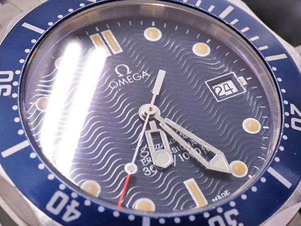 オメガ OMEGA シーマスター300 プロフェッショナル ダイバーズウォッチ 純正ダブルエクステンションブレスレット 腕時計箱 駒付 本物 正規_画像3