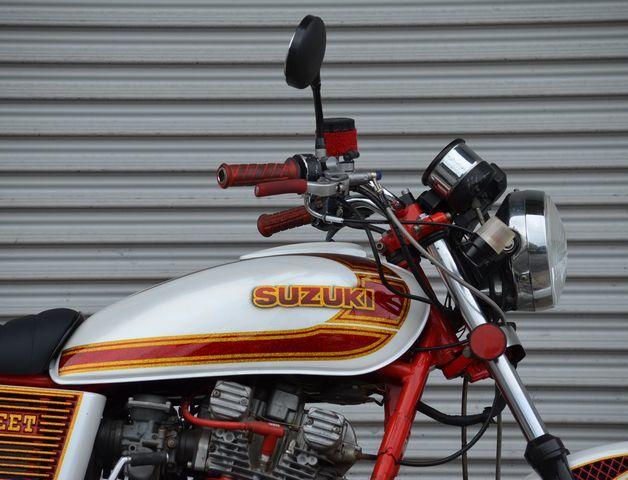 カスタム多数 GS400 人気車種!! SUZUKI 旧車 暴走 当時  カスタムペイント セブンスターキャスト BEET      CBX GSX GT FX _画像3