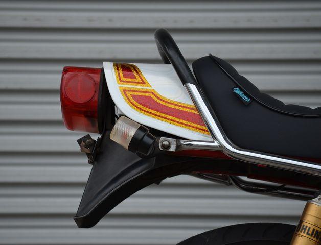 カスタム多数 GS400 人気車種!! SUZUKI 旧車 暴走 当時  カスタムペイント セブンスターキャスト BEET      CBX GSX GT FX _画像7