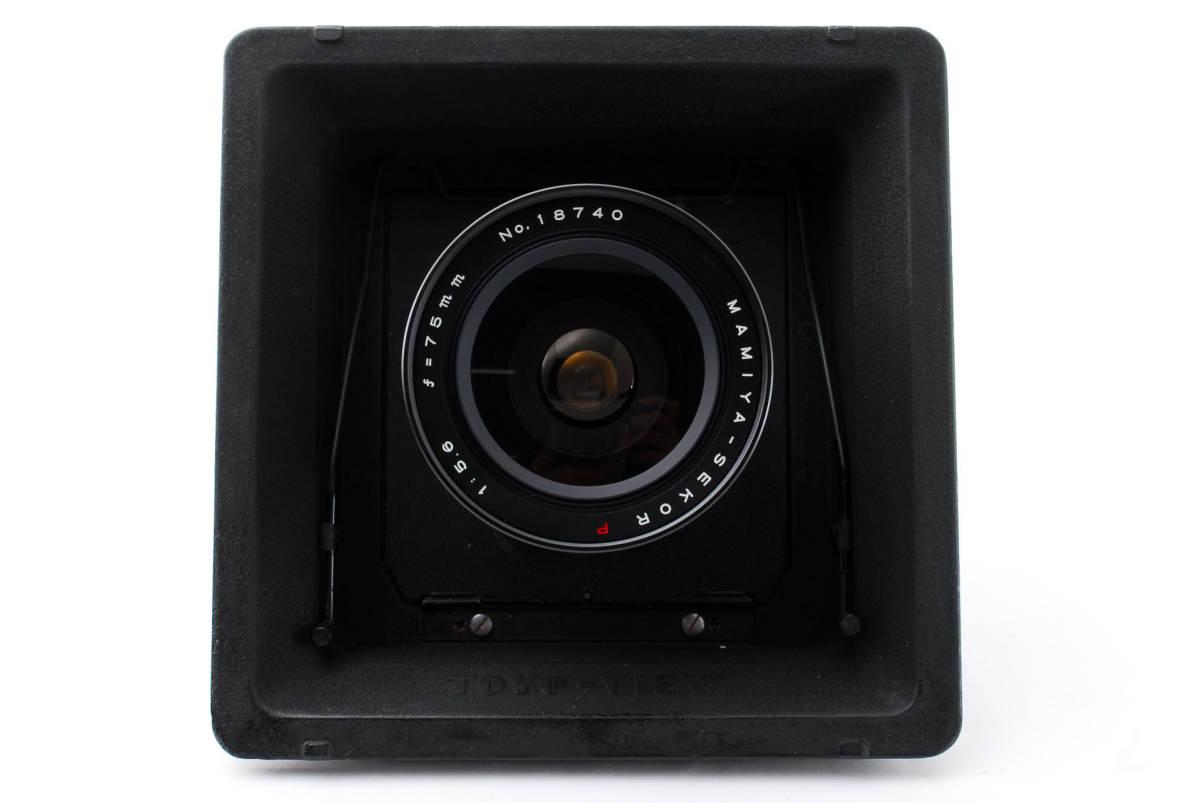 【希少レンズ TOYOボード付き良品】 マミヤ セコール MAMIYA SEKOR P 75mm F5.6  中判カメラ 同梱可能 #2598_画像2
