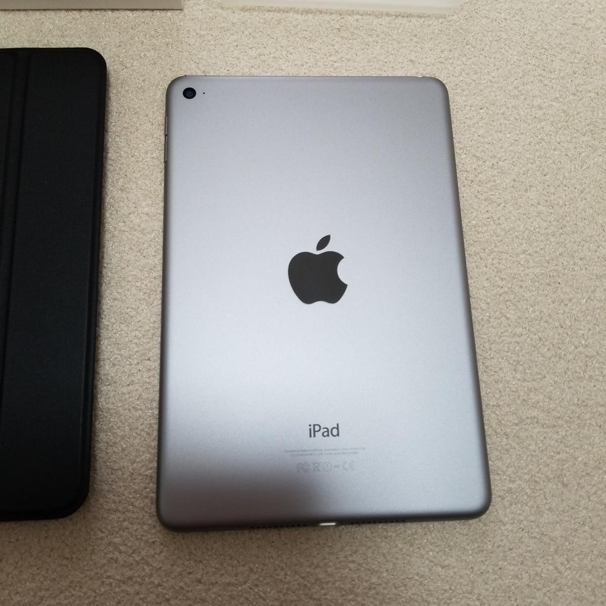超美品 2018年末購入 ipad mini 本体  128GB A1538 wi-fiモデル Bluetooth ロジクール キーボード ケースおまけ付_画像4