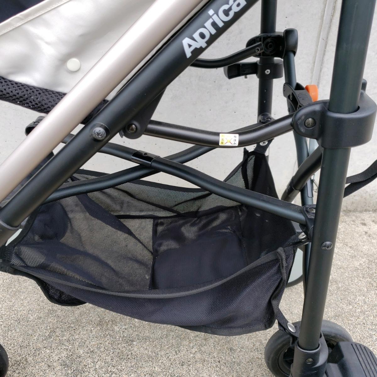aprica ベビーカー バギー スティックフラット B型ベビーカー _画像4