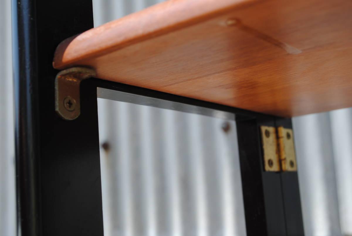 A252 飾り棚◇4段◇折り畳み式◇木製◇収納◇_画像5