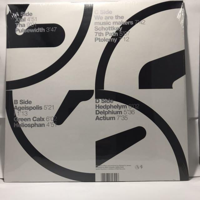 新品・未開封 Aphex Twin / Selected Ambient Works 85-92 LP 2枚組 AMBLP 3922 エイフェックス・ツイン_画像2