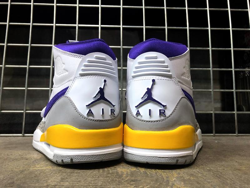 USA購入 NIKE AIR JORDAN LEGACY 312 Lakers ナイキ エアジョーダン レガシー 312 レイカーズカラー US11 JP29cm_画像6