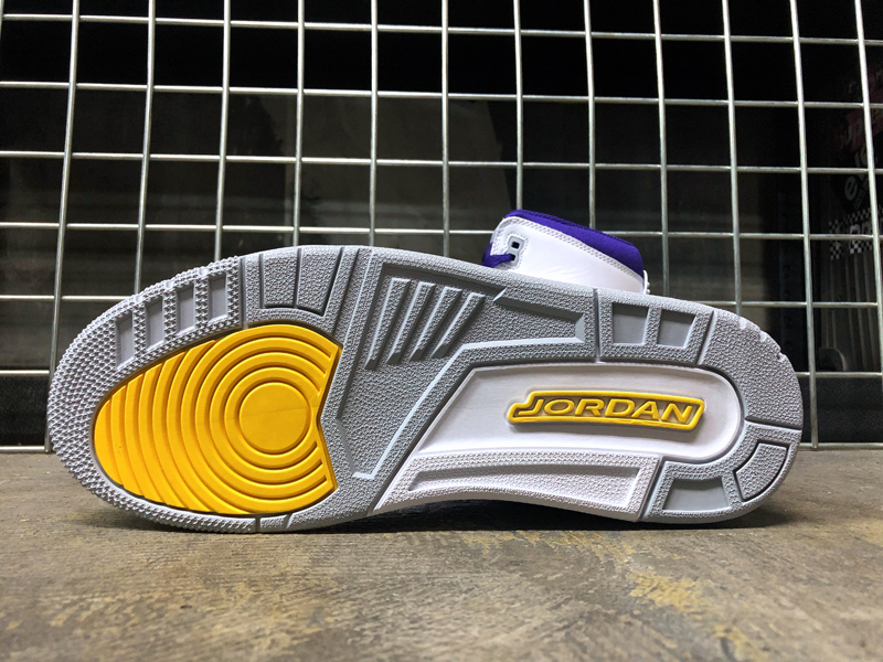USA購入 NIKE AIR JORDAN LEGACY 312 Lakers ナイキ エアジョーダン レガシー 312 レイカーズカラー US11 JP29cm_画像10
